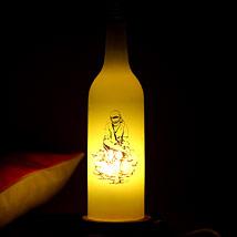 Sai Baba illuminance: Bottle Lamps
