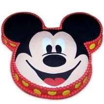 Soft Mickey Face Cake: Send Cakes On 2Nd Birthday