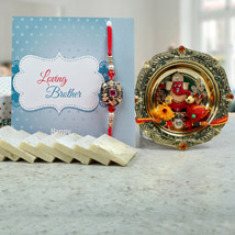 Speak Out Ur Heart: Rakhi With Sweets Bhubaneshwar