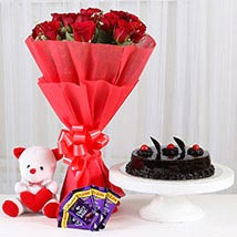 Sweet Combo For Sweetheart: Cake Delivery in Bathinda