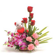 Sweet Inspiration: Flowers & Teddy Bears - Karwa Chauth
