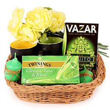 Tea with a Mojito Twist: Send House Warming Gift Baskets