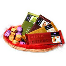 Temptations chocolate Basket: Send Gift Baskets to Bengaluru