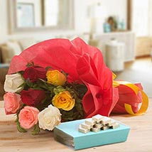 Tempting Treat: Send Flowers & Sweets - Christmas