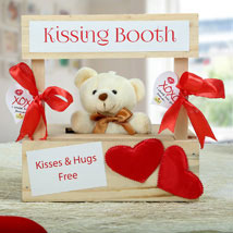 The Best Darn Kiss You Can Ever Get: Send Soft toys to Kolkata