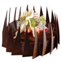 The Chocolaty Fruit Fantasy: Fresh Fruit Cakes