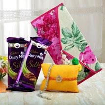 Token Of Sweetness: Send Rakhi to Bhubaneshwar