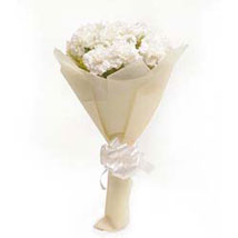 White Carnations: Sympathy & Funeral Gifts