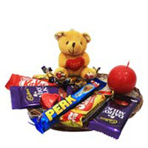 World Of Lovely Chocolates Hamper: Send Valentines Day Gift Hampers