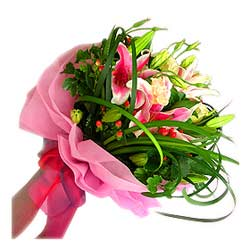 Bouquet of Star Gazer Lilies MAL