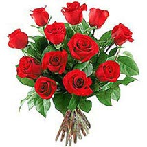 12 Long Stem Roses: Send Gifts to Nepal