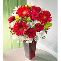 Cheerful Greetings: Flowers for Birthday