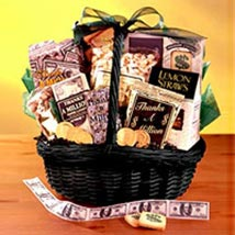 Cookies Basket: Gift Baskets to Philippines