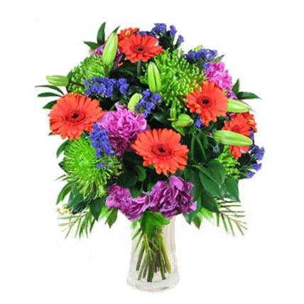 Mix Bouquet in Vase