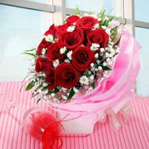 Multi wrapped Roses: Fathers Day Gifts - Singapore