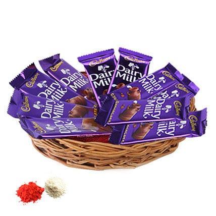 Basket of Dairy Milk UAE
