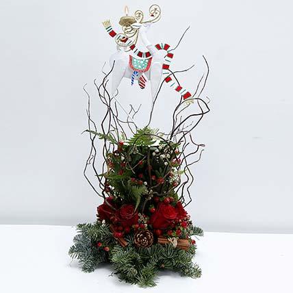 Deck the Halls Christmas Basket