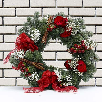 Shooting Star Wreath