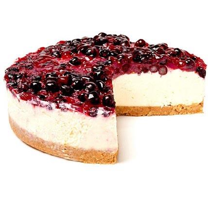 Blackcurrant Blast Cheesecake