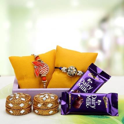 Exquisite Rakhi bond