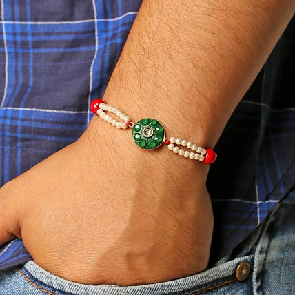 Misty Green Rakhi