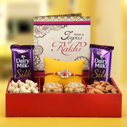 Overwhelming Rakhi Hamper
