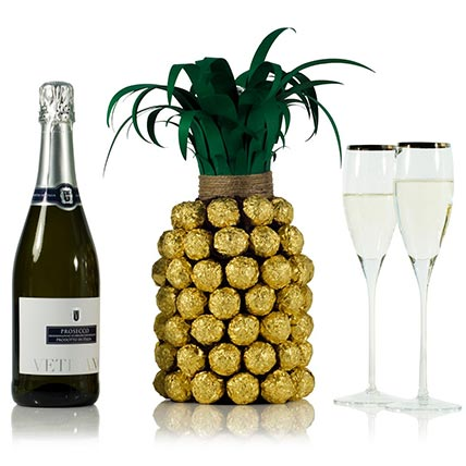 Prosecco Pineapple For Her