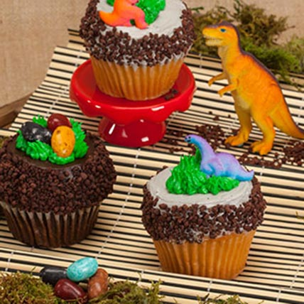 crumbs signature jurassic cupcakes in usa gift crumbs
