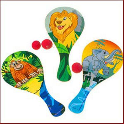 Jungle Paddle Balls