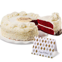 Red Velvet Chocolate Cake: Gifts to San Diego